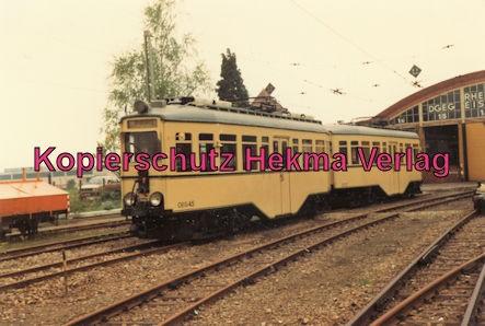 Viernheim Rhein-Neckar DGEG Eisenbahnmuseum - Wagenzug OEG-45