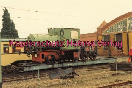 Viernheim Rhein-Neckar DGEG Eisenbahnmuseum - Lok der Süddeutschen Kabelwerke Mannheim
