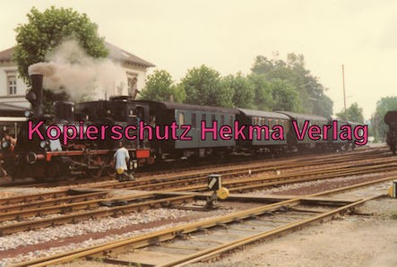Achertalbahn - Bahnhof Achern - Dampflok 89 7159