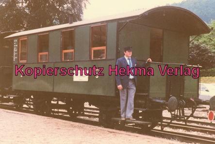 Achertalbahn - Bahnhof Furschenbach - Personenwagen