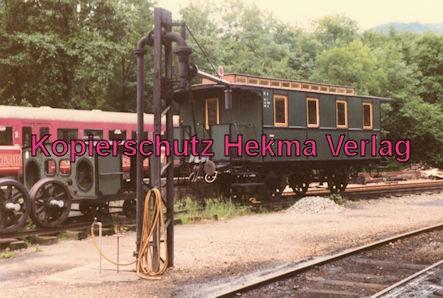 Achertalbahn - Bahnhof Furschenbach - Wagen