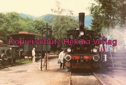 Achertalbahn - Bahnhof Ottenhöfen - Lok 89 7159