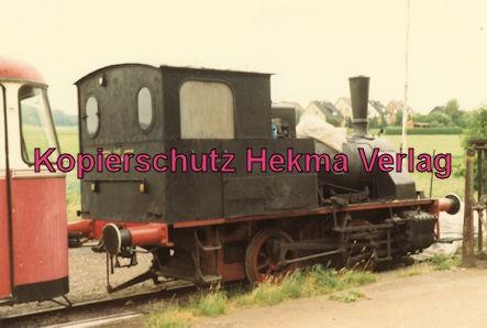 Almetalbahn - Bahnhof Segeste - Lok AHE 17 ex. Gaswerk Karlsruhe