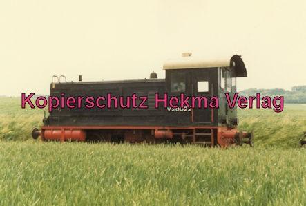 Almetalbahn - Bahnhof Bodenburg - Diesellok V 20022