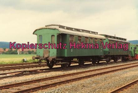 Almetalbahn - Bahnhof Bodenburg - Eine Fahrzeugsammlung