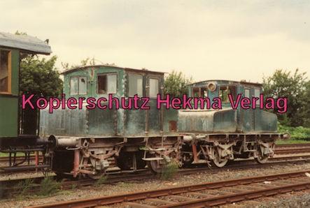 Almetalbahn - Bahnhof Bodenburg - Werk- und Kleinbahnloks