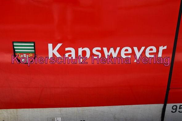 Neustadt Wstr. Eisenbahn - Hauptbahnhof Neustadt - Zug Kapsweyer - 643 504