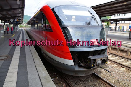 Neustadt Wstr. Eisenbahn - Hauptbahnhof Neustadt - Zug Rockenhausen - 642 611