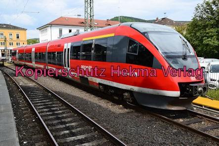 Neustadt Wstr. Eisenbahn - Hauptbahnhof Neustadt - Zug Kirrweiler - 643 514