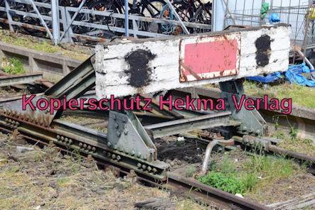 Neustadt Wstr. Eisenbahn - Hauptbahnhof Neustadt - Prellbock