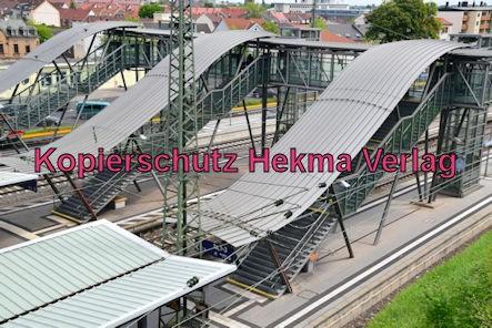 Neustadt Wstr. Eisenbahn - Hauptbahnhof Neustadt - Bahnhofsüberführung