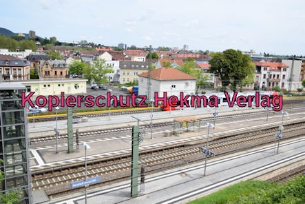 Neustadt Wstr. Eisenbahn - Hauptbahnhof Neustadt - Bahnhofsgelände
