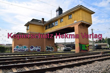 Neustadt Wstr. Eisenbahn - Hauptbahnhof Neustadt - Altes Stellwerk