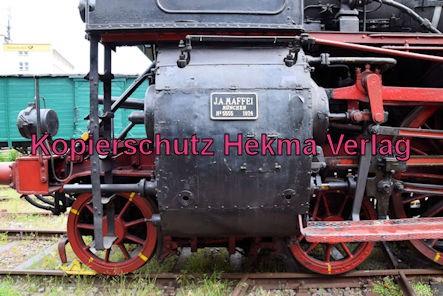 Eisenbahnmuseum Neustadt - Dampflok 18 505