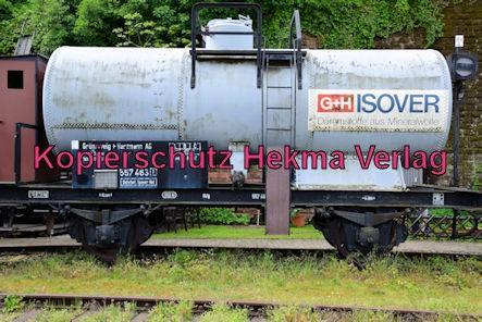 Eisenbahnmuseum Neustadt - Kesselwagen 557 463