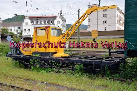 Eisenbahnmuseum Neustadt - Kranwagen - Robel & CO München