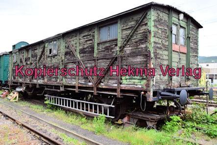 Eisenbahnmuseum Neustadt - Hilfszug-Gerätewagen der ehem. Badischen Staatseisenbahnen