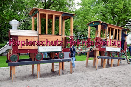 Pfefferminzbähnel - Speyer - Spielplatz Josef-Schmitt-Str. - Kinderspielgerät