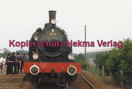 Kaiserstuhlbahn - Rebenbummler - Lok 384