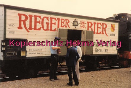 Kaiserstuhlbahn - Rebenbummler - Bierwagen