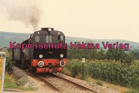 Kaiserstuhlbahn - Rebenbummler - Lok 384 auf der Strecke