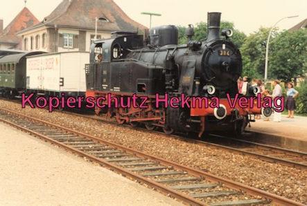 Kaiserstuhlbahn - Rebenbummler - Bahnhof Breisach - Lok 384