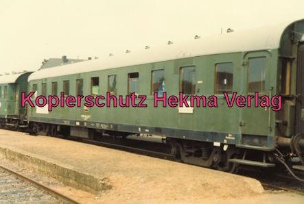 Merzig-Büschfelder Eisenbahn - Bahnhof Merzig-Ost - Personenwagen