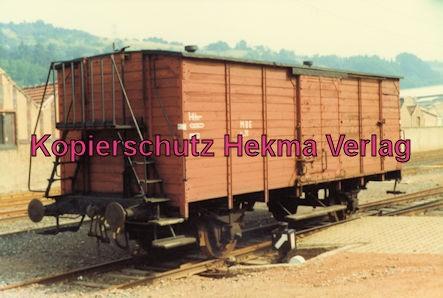 Merzig-Büschfelder Eisenbahn - Bahnhof Merzig-Ost - Güterwagen