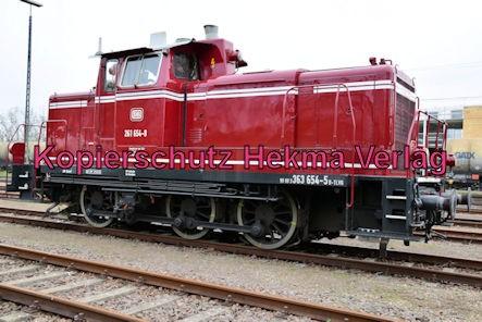 Speyer Eisenbahn - Speyer Hbf Nebengleis - Diesellok 261 654-8