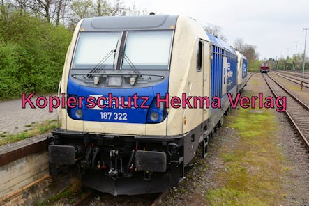 Speyer Eisenbahn - Speyer Hbf Nebengleis - Wiener Lokalbahnen Carco - 91 80 6187 322-3 D-WLC