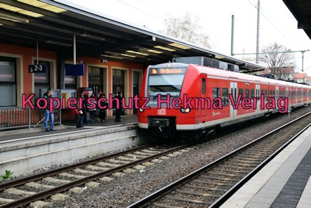Speyer Eisenbahn - Speyer Hbf - S4 - 425 731-7