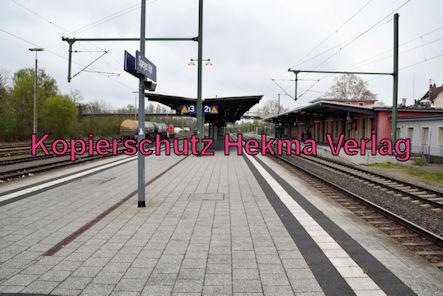 Speyer Eisenbahn - Speyer Hbf - Bahnsteige