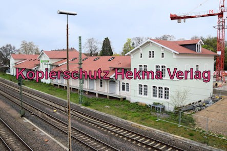 Speyer Eisenbahn - Speyer Hbf - Gebäude Güterverladung