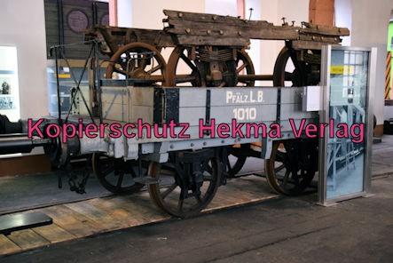 Eisenbahnmuseum Neustadt - Güterwagen PLB 1010 Baujahr 1846