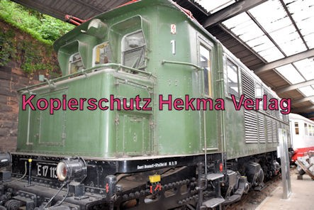 Eisenbahnmuseum Neustadt - E-Lok E17 113