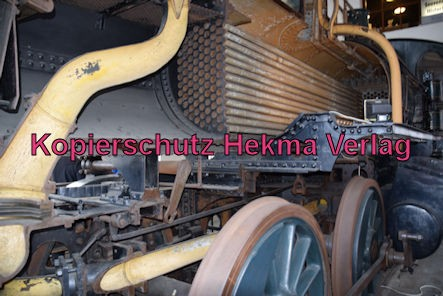 Eisenbahnmuseum Neustadt - Lok Berg - Baujahr 1883