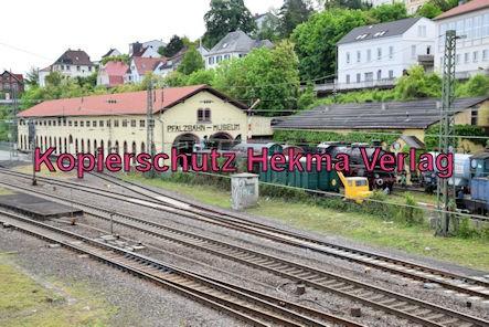 Eisenbahnmuseum Neustadt - Pfalzbahn-Museum - Außenansicht