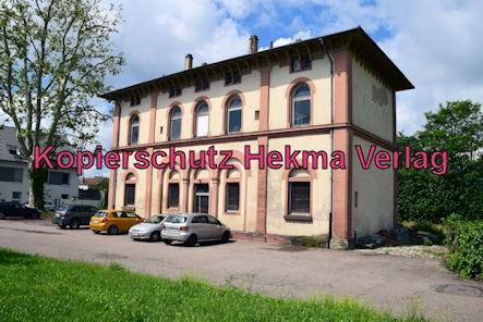 Eisenbahn Rheinzabern - Rheinzabern - Altes Bahnhofsgebäude