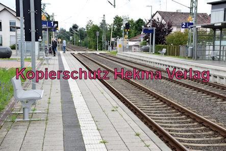Eisenbahn Rheinzabern - Rheinzabern - Bahnsteig