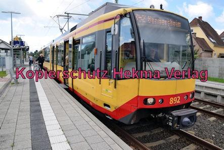 Eisenbahn Rheinzabern - Rheinzabern Bahnhof - S52 Wagen 895