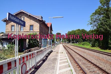 Eisenbahn Rohrbach (Pfalz) - Rohrbach - Bahnhofsgelände