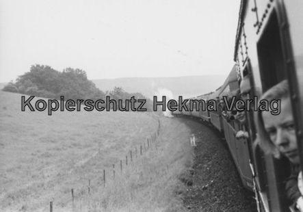 Abschiedsfahrt bad. Lok 018 323-6 - Bahnhof Münster