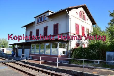 Godramstein/Pfalz Eisenbahn - Bahnhof Godramstein - Bahnhofsgebäude