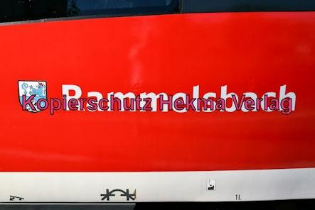 Godramstein/Pfalz Eisenbahn - Bahnhof Godramstein - RE6 Rammelsbach 643 021