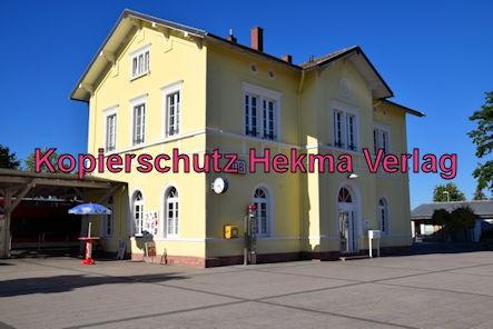 Eisenbahn Kandel (Pfalz) - Kandel Bahnhof - Bahnhofsgebäude
