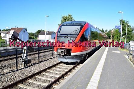 Eisenbahn Kandel (Pfalz) - Kandel Bahnhof - RE6 Rammelsbach 643 521