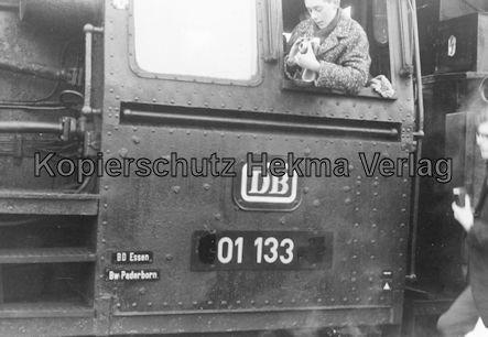 Pacific Abschiedsfahrt - Düsseldorf - Lok 01 133