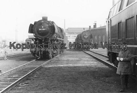 Pacific Abschiedsfahrt - Bahnhof Paderborn - Lok 044 334-1