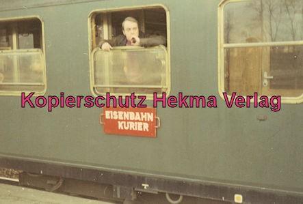 Pacific Abschiedsfahrt - Bahnhof Paderborn - Gesellschaftswagen