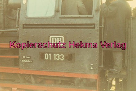 Pacific Abschiedsfahrt - BW Paderborn - Lok 01 133